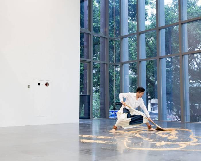 第14屆台新藝術獎大展  強調作品的對話關係