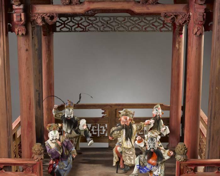 國立歷史博物館【偶陶畫戲】潮汕彩繪翁仔屏泥塑展