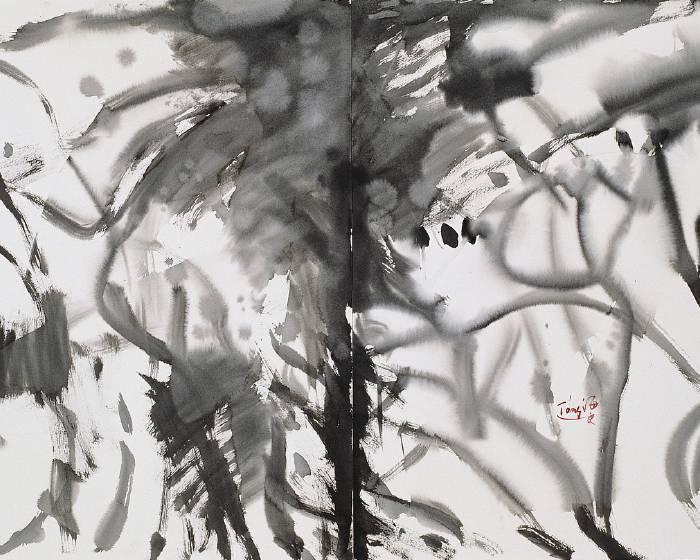 印象畫廊【唐海文抽象世界】經典作品展