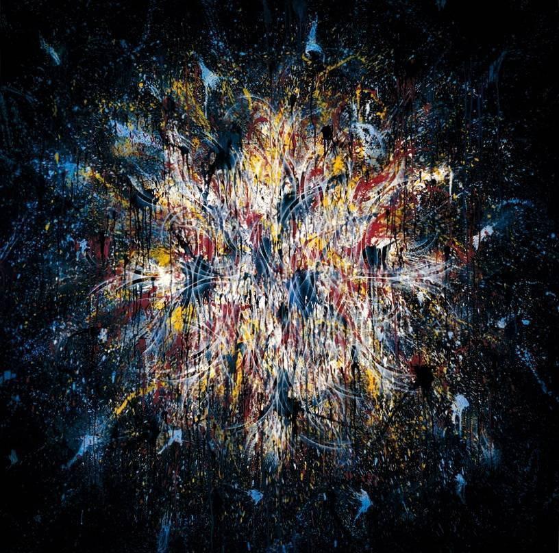 楊仁明 抽象世界 2008 壓克力 油彩 195x195cm