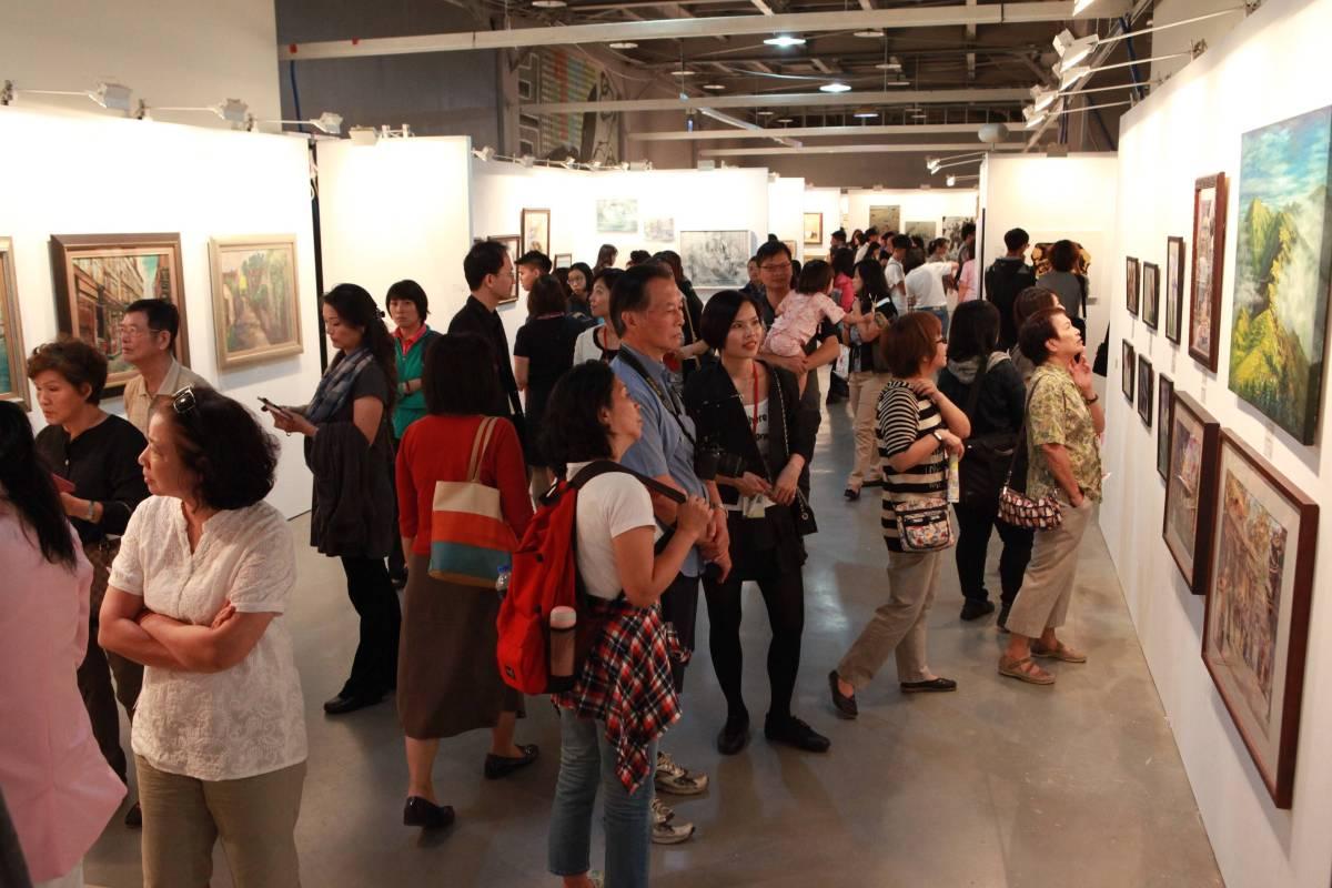 「第二屆台灣輕鬆藝術博覽會」11月4日至6日即將在松山文創園區一號倉庫登場。