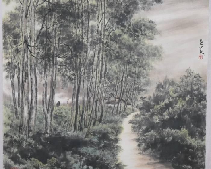 新營文化中心【樂山樂水】蘇惠美水墨畫創作展