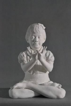 陳冠寰 大蓮花手印 雕塑 2015