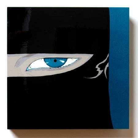 天野喜孝/無題/50x50x10cm/2007/Acrylic on alcubond
