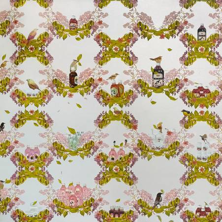 Thukral & Tagra/生活/183x183/2009/油畫 壓克力顏料 畫布