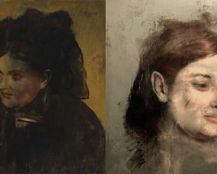 畫中有畫 竇加《仕女圖》第二女主角是…