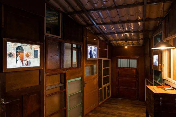 吳建興《出雙入對》。圖/ 台北市立美術館提供。
