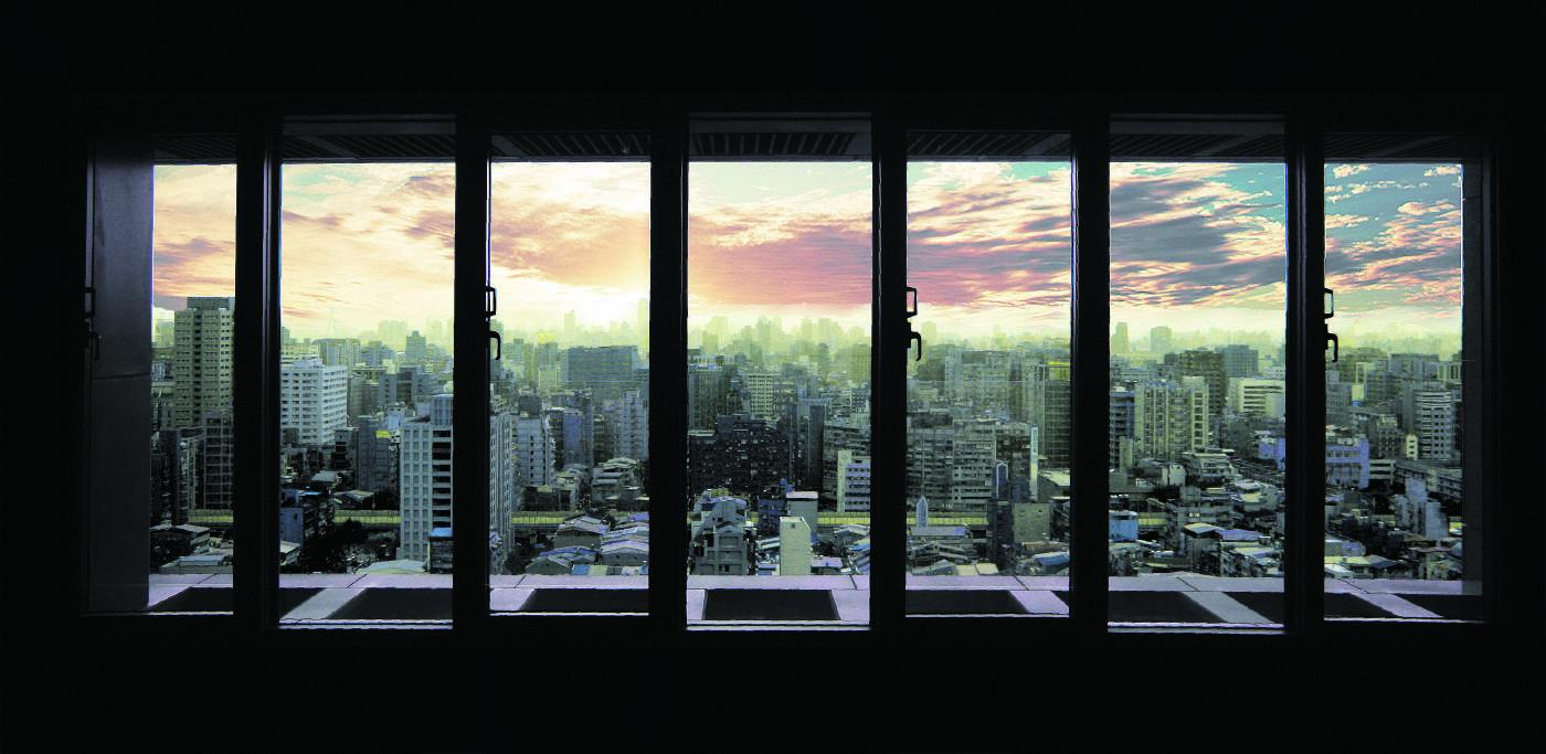 藝術藏家旗艦館頂樓景觀