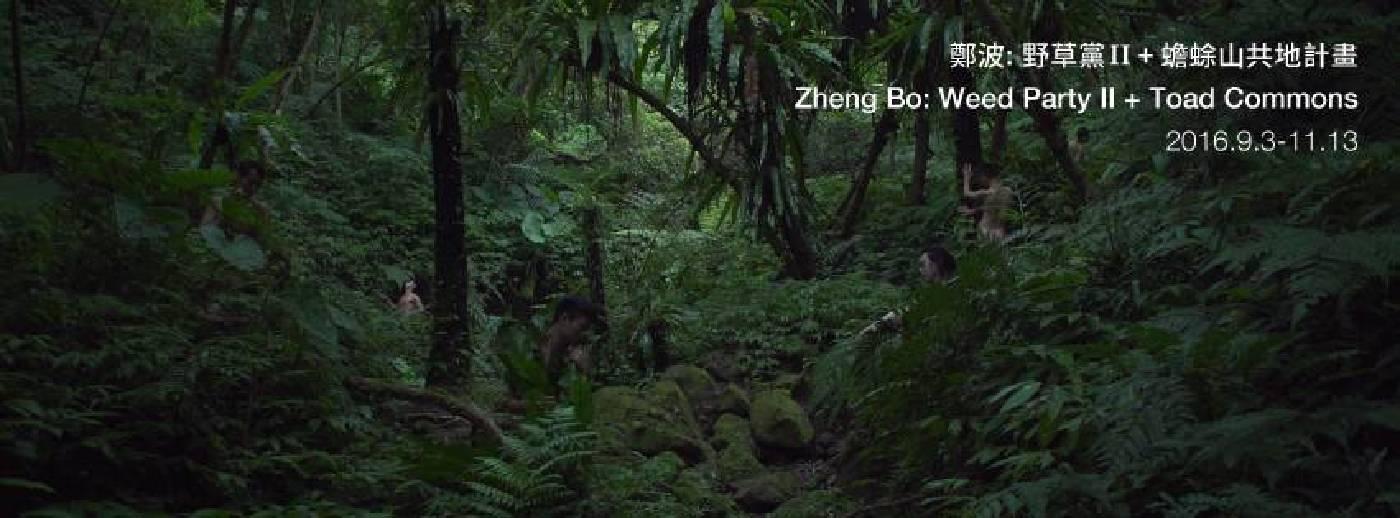 鄭波:野草黨II + 蟾蜍山共地計畫  Zheng Bo: Weed Party II + Toad Commons