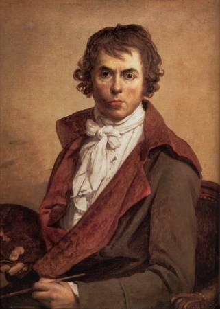 雅客路易大衛自畫像