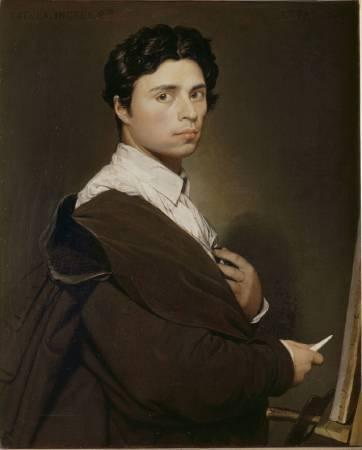 安格爾自畫像