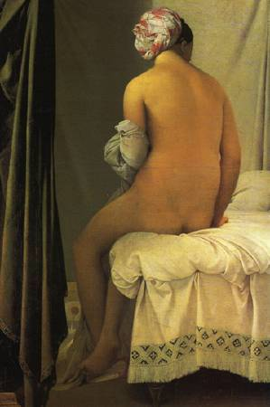 安格爾,浴女