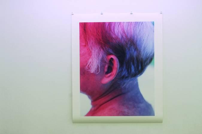 黃博志〈七號病人的左耳〉。圖/非池中藝術網攝。