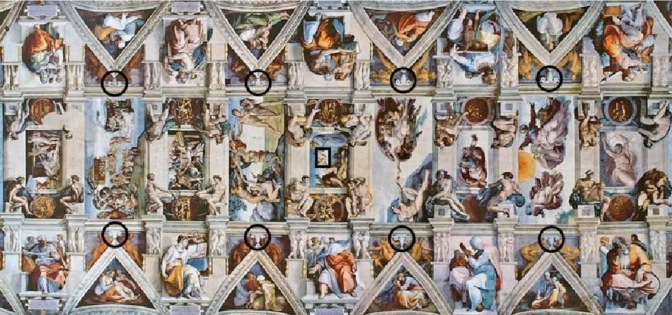 西斯汀教堂《創世紀》。圖/取自ibtimes。