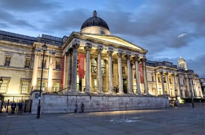 英國國家美術館(The National Gallery, London)。圖/取自artnet。