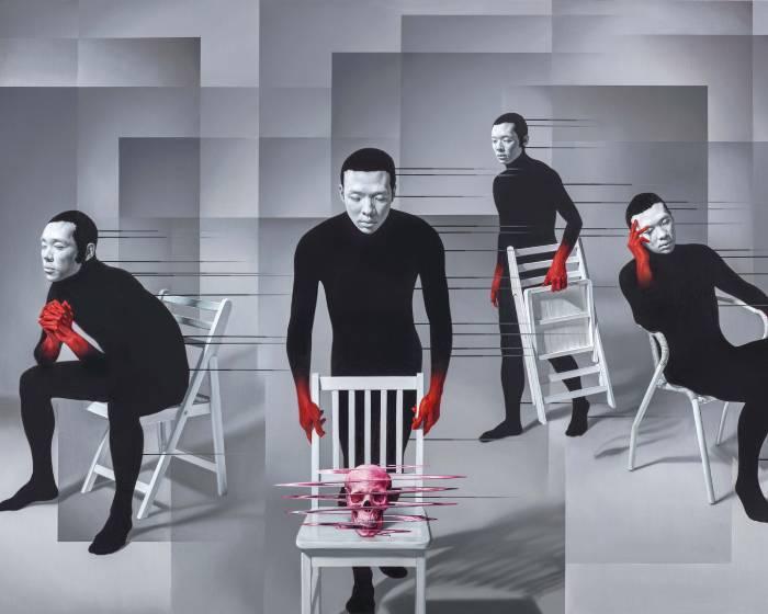 尊彩藝術中心【微量裂解的總和】林宏信個展