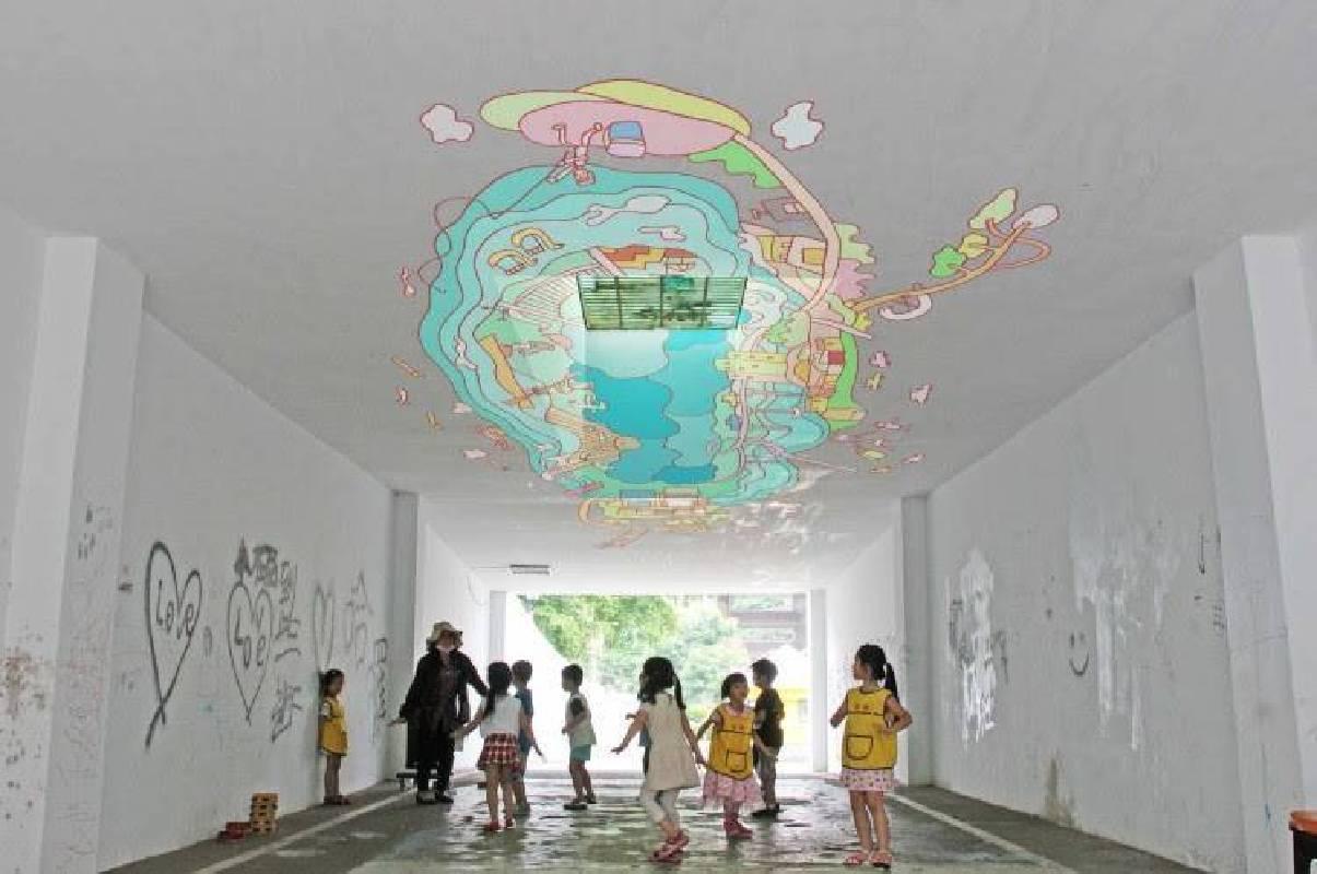 臨時性裝置藝術展:潘羽祐〈時光的迴廊〉模擬圖