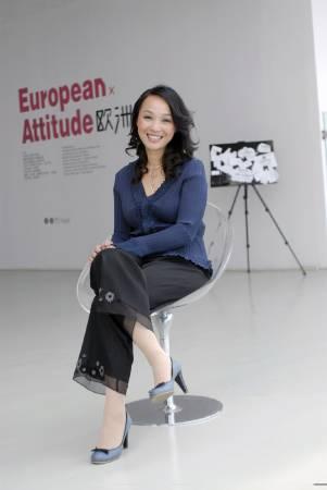 上海戲劇學院創意學院藝術管理系主任黃韻瑾。圖/黃韻瑾提供。