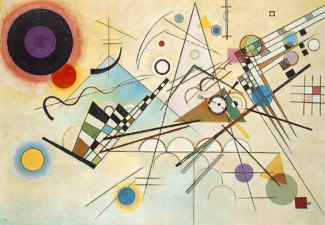 《構成第八號》, Wassily Kandinsky。