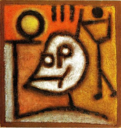 Death of Fire, Paul Klee。