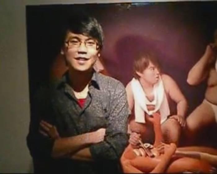 畫展開幕花絮:國王遊戲-李承道 2009.7.8 - .8.6