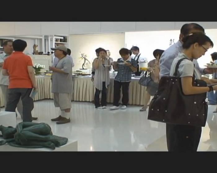 畫展開幕花絮:纖語香腮-彭光均個展2009.7.10 - 7.25