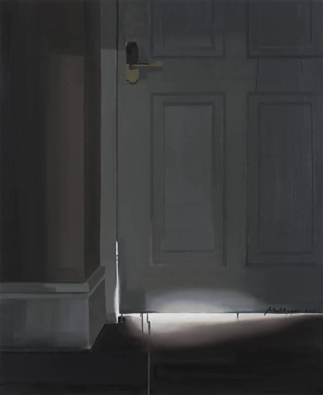 馬銘澤 Ma Mingze - Silver Linings  布面油畫 Oil on Canvas 110cmx90cm  2015