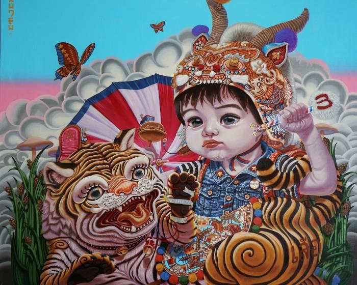 馬君輔創作「繪像」物 迎童年消逝的年代