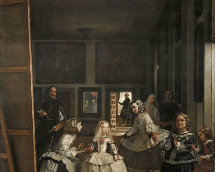 維拉斯奎茲《宮女》 原來是一幅自畫像