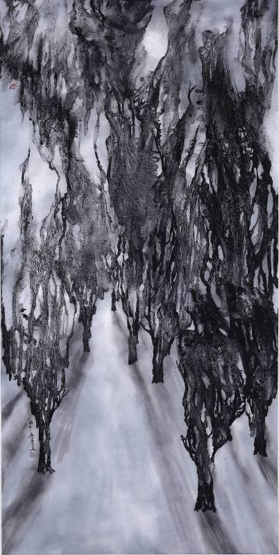 廖素真作品_月光森林