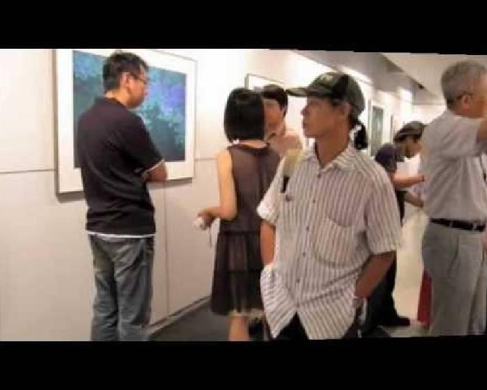 畫展開幕花絮:爵士藝廊-趙秀煥花鳥版畫展「夏塘清韻」
