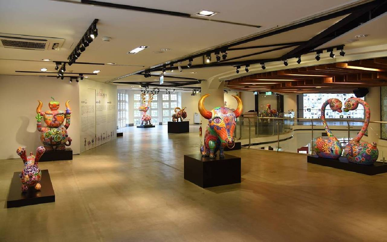 國立工藝中心臺北分館三樓展覽全景