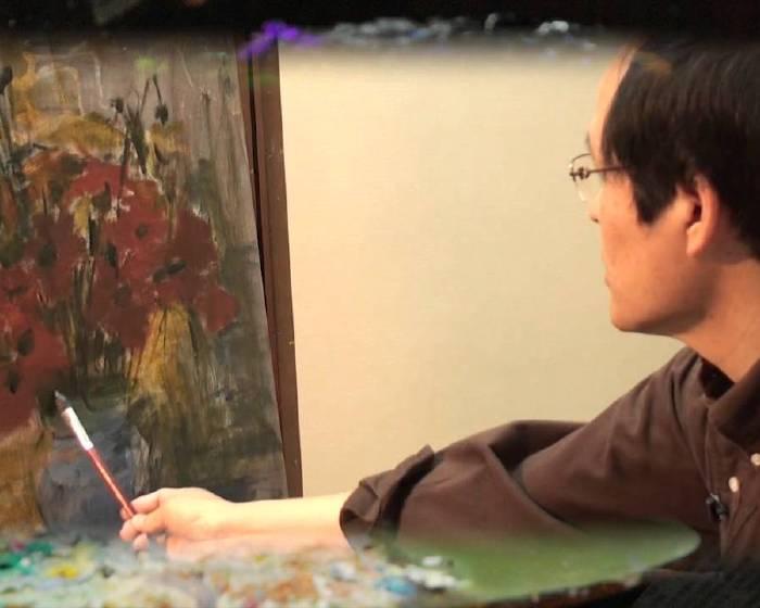 非池中藝術網│藝術線上學習:油畫創作 蘇憲法