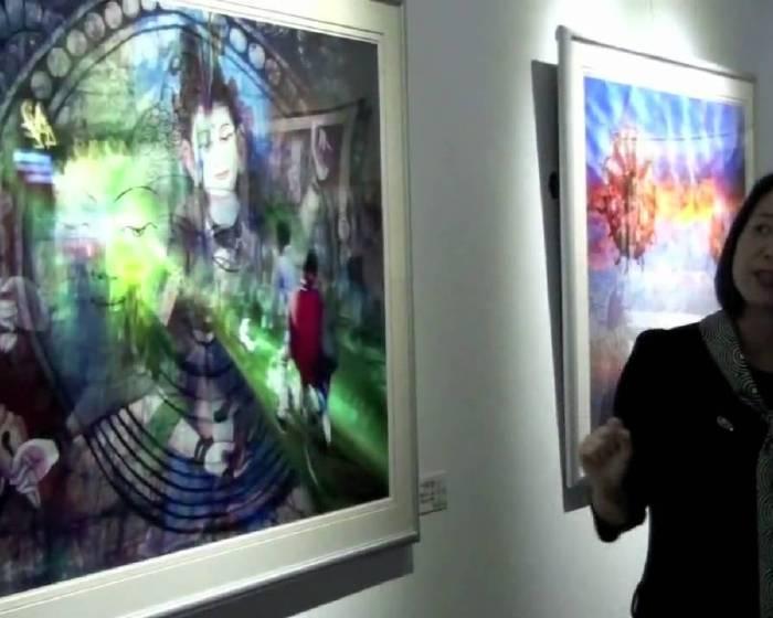 藝文直擊: 絕版影像館-廖益嘉個展「內面」 開幕花絮