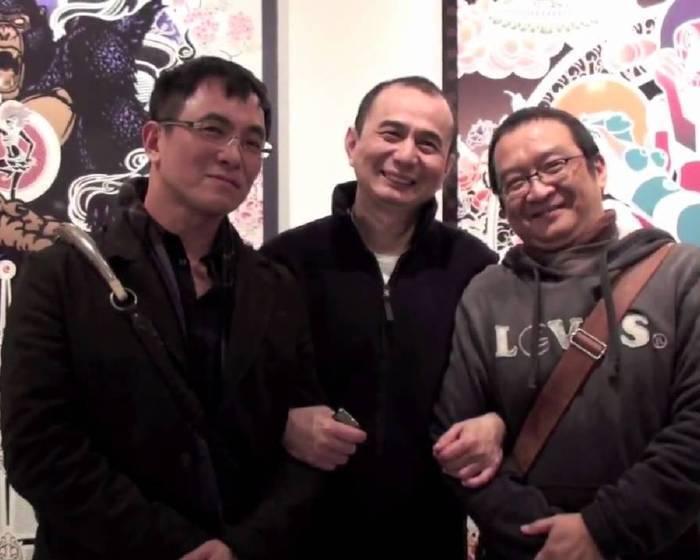 藝文直擊: 大未來林舍畫廊「我的夢幻島」楊茂林個展開幕花絮