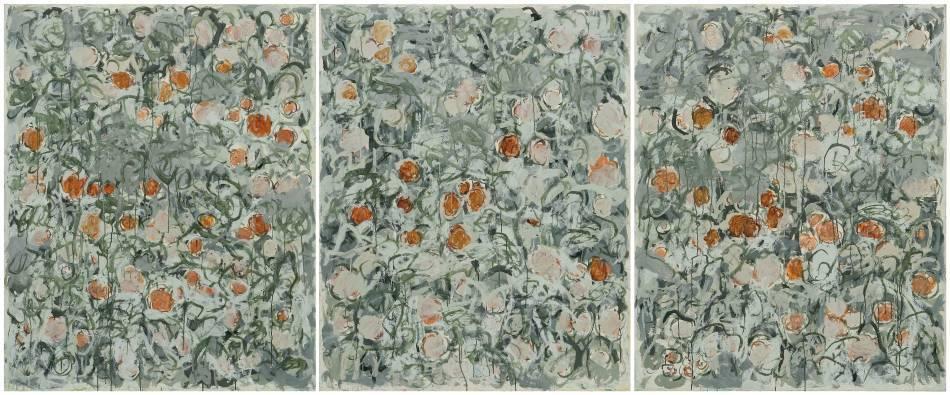 微風花草 Flowers in Breeze---1657