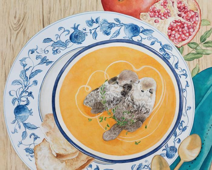 動物模擬感情百態 張惠文的工筆畫盛宴