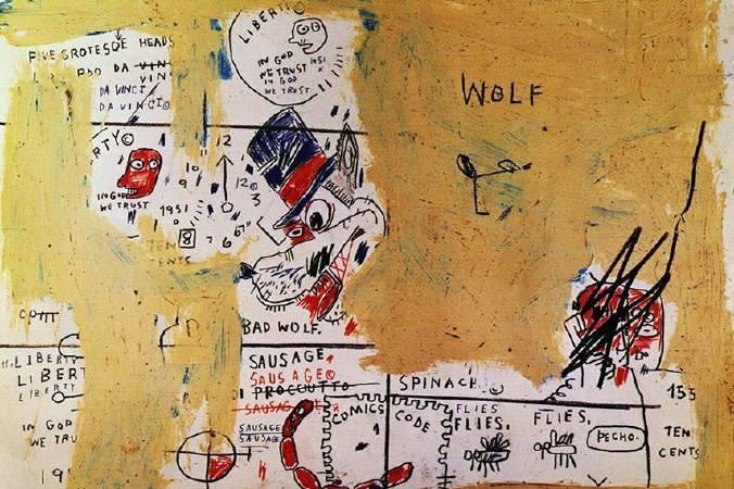《Wolf Sausage (detail),1983》