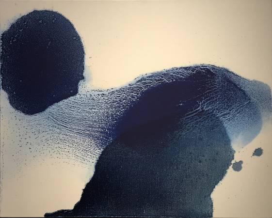 毛栗子作品 花非花 Ambiguous Flowers  65 x 81 cm 布面油彩 Oil on canvas 2016
