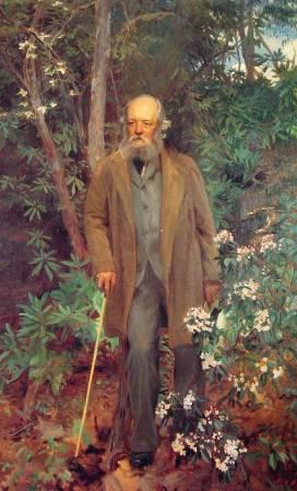 薩金特《費德列克·洛·奧姆斯特德》(Frederick Law Olmsted),1895。圖/取自Wikiart。