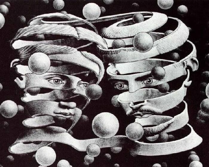 藝術與科學的謀合 艾雪的幾何魔幻藝術