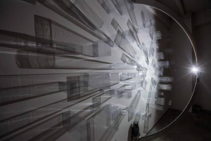 吳季璁,《水晶城市007》,裝置,尺寸視空間而定,2015年