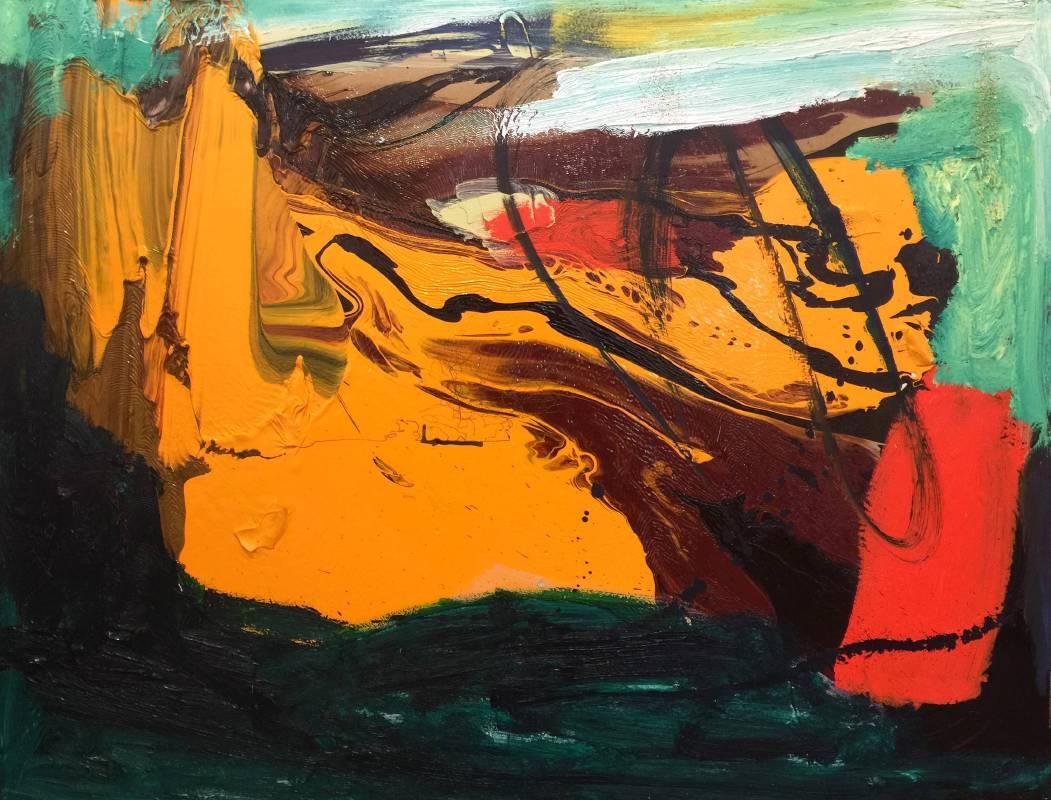 2013 生命的力量 90X116cm (50F) 油畫