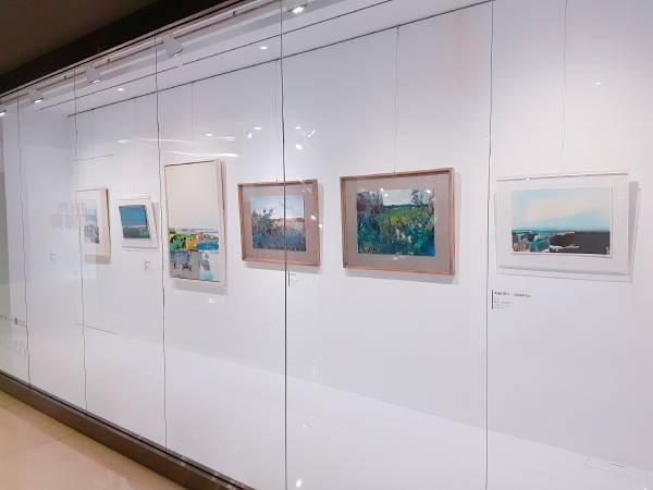 中友A棟12F時尚藝廊「形色協奏 柯適中個展」展出作品
