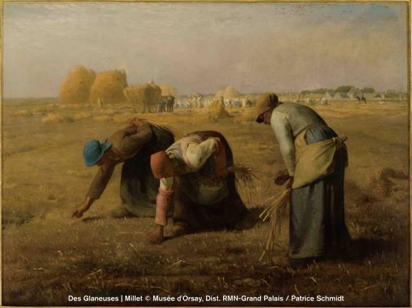 尚-法蘭斯瓦.米勒,《拾穗》,1857