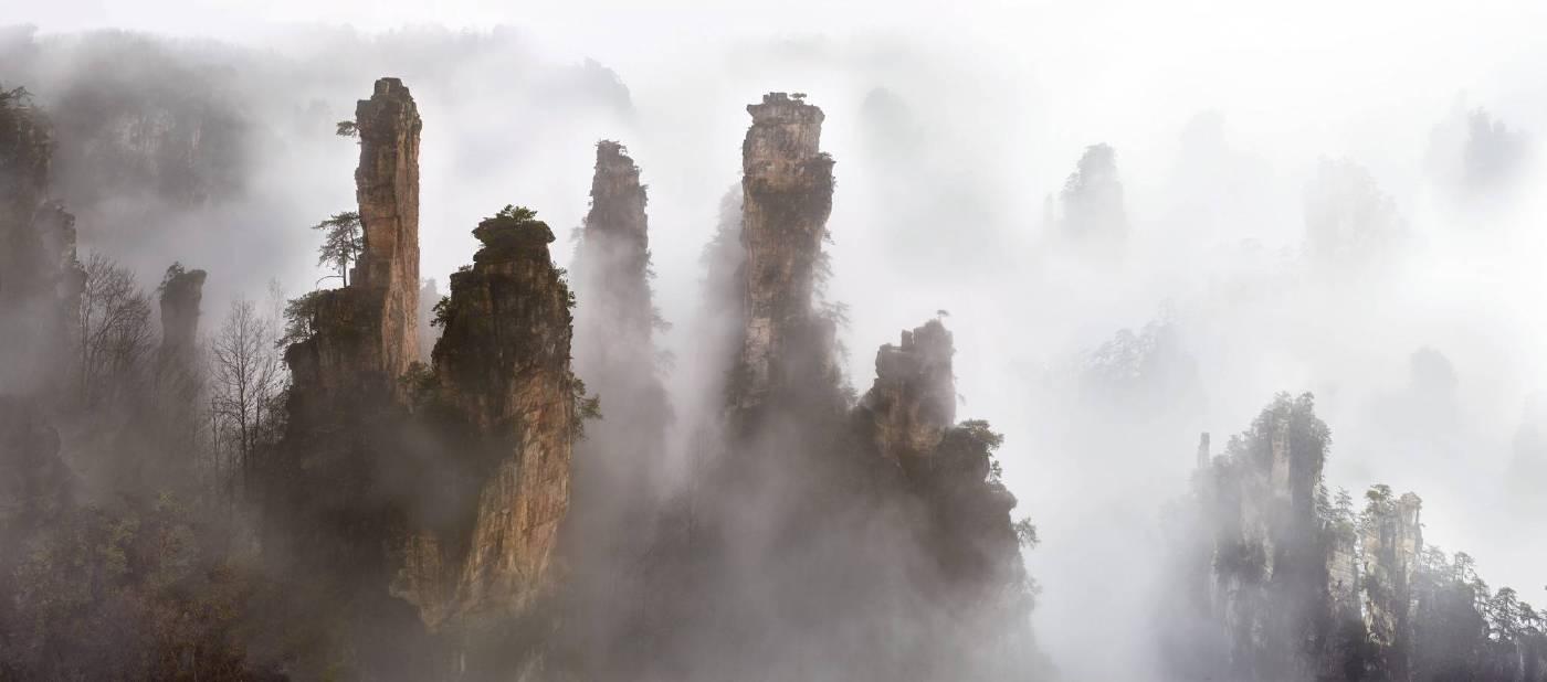 雲山煙樹 2016 中國湖南