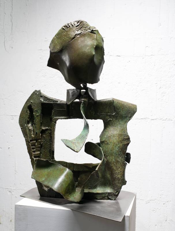 風影  Shadow of Wind 67x62x94cm,Bronze,2016