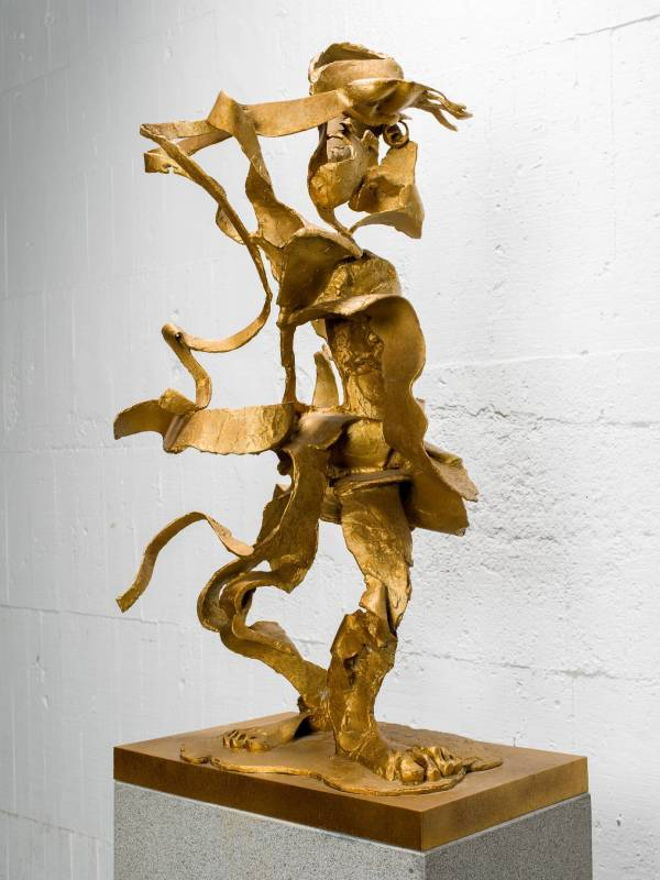 千里眼 Clairvoyance 64x45x112cm,Bronze,2016