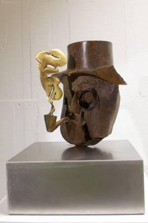 嬝吟  A Dlicate Breath 22x31x29cm,Bronze,2013