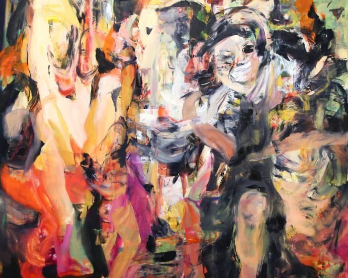 2017香港巴塞爾藝博會 繪畫類亮點女性藝術家作品觀察 (一)